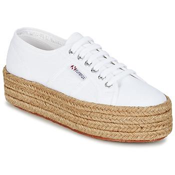 Shoes Női Rövid szárú edzőcipők Superga 2790 COTROPE W Fehér