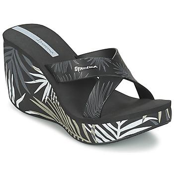 Cipők Női Papucsok Ipanema LIPSTICK STRAPS III Fekete