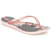 Shoes Női Lábujjközös papucsok Ipanema WAVE TROPICAL Rózsaszín