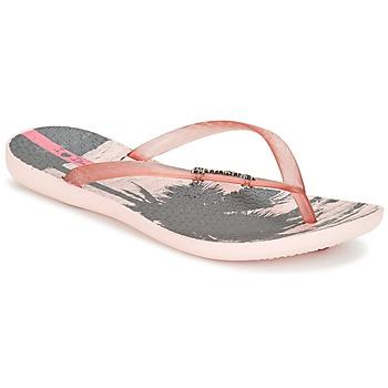 Cipők Női Lábujjközös papucsok Ipanema WAVE TROPICAL Rózsaszín