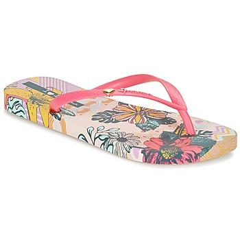 Cipők Női Lábujjközös papucsok Ipanema I LOVE TRIBAL Rózsaszín