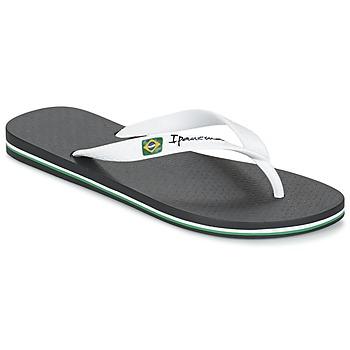 Cipők Férfi Lábujjközös papucsok Ipanema CLASSICA BRASIL II Fekete  / Fehér