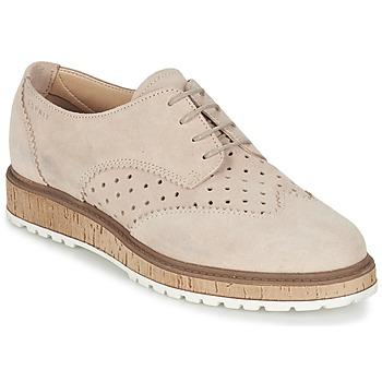 Cipők Női Oxford cipők Esprit CRISSY LACE UP Bőrszínű