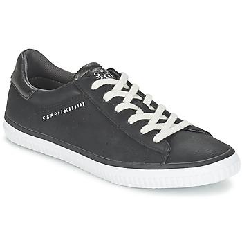 Cipők Női Rövid szárú edzőcipők Esprit RIATA LACE UP Fekete