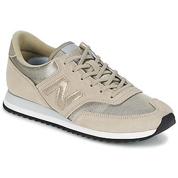 Shoes Női Rövid szárú edzőcipők New Balance CW620 Bézs