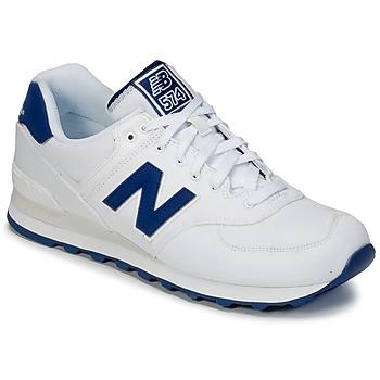 Shoes Rövid szárú edzőcipők New Balance ML574 Fehér / Kék