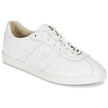 Shoes Női Rövid szárú edzőcipők Marc O'Polo JAPOULIA Fehér