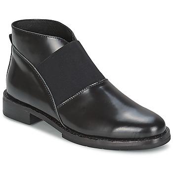 Cipők Női Bokacsizmák F-Troupe Chelsea Boot Fekete