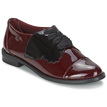 Cipők Női Oxford cipők F-Troupe Butterfly Shoe Burgundi