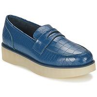 Cipők Női Mokkaszínek F-Troupe Penny Loafer Sötétkék