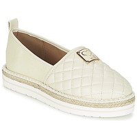 Cipők Női Gyékény talpú cipők Love Moschino JA10093G13 Krém