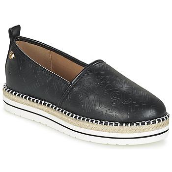 Shoes Női Gyékény talpú cipők Love Moschino JA10113G13 Fekete