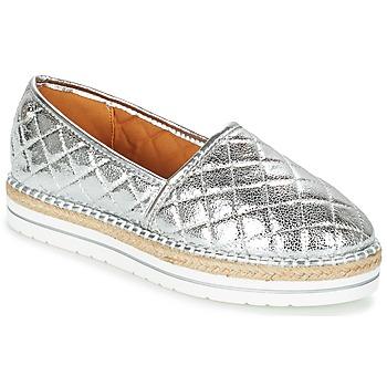 Cipők Női Gyékény talpú cipők Love Moschino JA10313G03 Ezüst