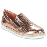 Cipők Női Belebújós cipők Love Moschino JA10353G03 Arany / Rózsaszín