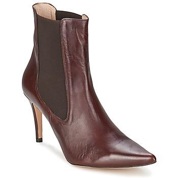 Cipők Női Bokacsizmák Alba Moda PIMTY Barna