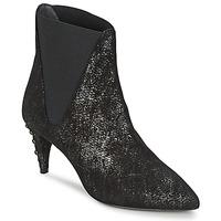 Shoes Női Bokacsizmák Stéphane Kelian ELSA 7 Fekete