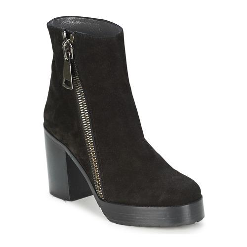 Cipők Női Bokacsizmák Stéphane Kelian DANA 4 Fekete
