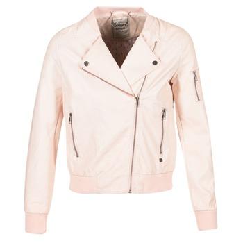 Ruhák Női Bőrkabátok / műbőr kabátok Kaporal ALARE Bőrszínű