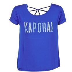 Ruhák Női Rövid ujjú pólók Kaporal NIZA Kék