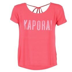 Ruhák Női Rövid ujjú pólók Kaporal NIZA Rózsaszín