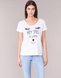 material Női Rövid ujjú pólók Kaporal ASMA Fehér
