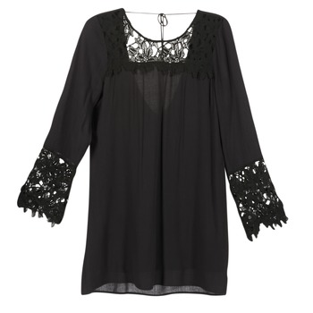 material Női Rövid ruhák Billabong OPEN HORIZON DRESS Fekete