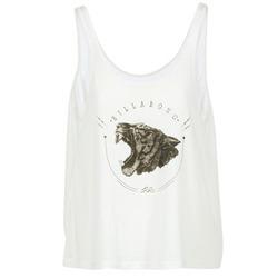material Női Trikók / Ujjatlan pólók Billabong OPEN TANK Ekrü