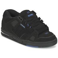 Cipők Férfi Rövid szárú edzőcipők Globe SABRE Fekete  / Kék