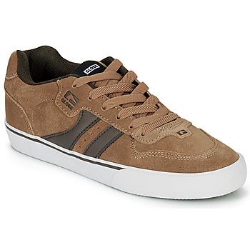 Cipők Férfi Rövid szárú edzőcipők Globe ENCORE-2 Barna