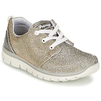 Cipők Lány Rövid szárú edzőcipők Primigi HILOSSA Ezüst