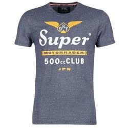 Ruhák Férfi Rövid ujjú pólók Superdry 500 CLUB MOTORRADER Szürke