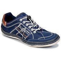 Shoes Férfi Rövid szárú edzőcipők Bugatti LAMETE Tengerész