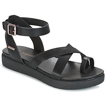 Cipők Női Szandálok / Saruk Bugatti VENATE Fekete