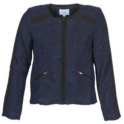 Ruhák Női Kabátok / Blézerek Suncoo DANAELLE Kék