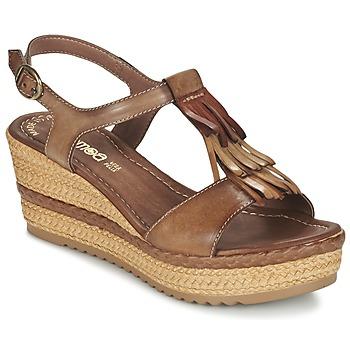 Cipők Női Szandálok / Saruk Samoa DREDU Barna