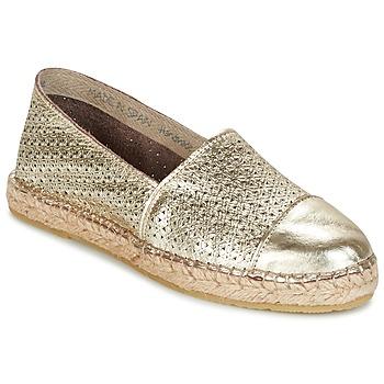 Cipők Női Gyékény talpú cipők Nome Footwear MAROU Arany