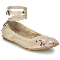 Cipők Lány Balerina cipők / babák Ikks EMILY Bézs / Rózsaszín