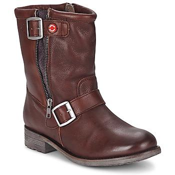 Shoes Női Csizmák Nobrand FISCHERIES Barna