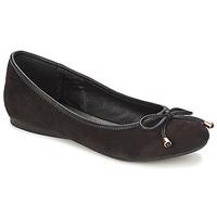 Cipők Női Balerina cipők / babák Moony Mood LIESA Fekete