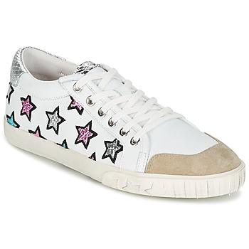Shoes Női Rövid szárú edzőcipők Ash MAJESTIC Fehér