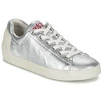 Shoes Női Rövid szárú edzőcipők Ash NICKY Ezüst