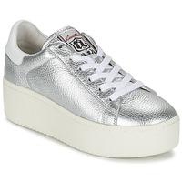 Shoes Női Rövid szárú edzőcipők Ash CULT Ezüst
