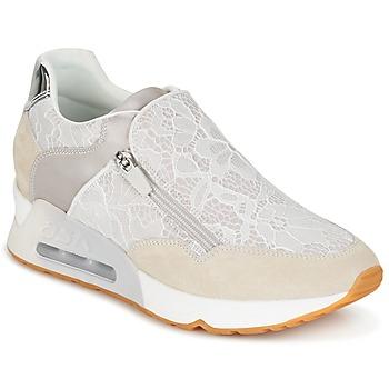 Shoes Női Rövid szárú edzőcipők Ash LOOK LACE Bézs