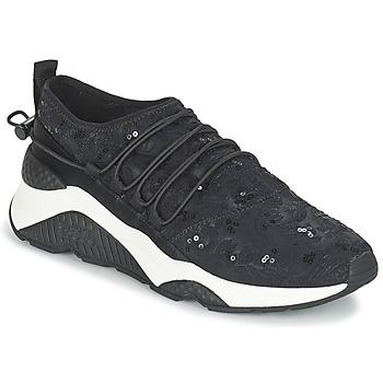 Shoes Női Rövid szárú edzőcipők Ash MISS Fekete