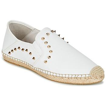 Shoes Női Gyékény talpú cipők Ash ZABOU Fehér