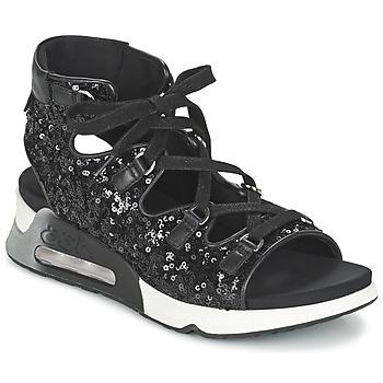 Cipők Női Szandálok / Saruk Ash LIV Fekete