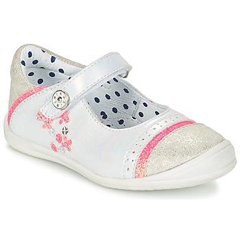 Cipők Lány Balerina cipők / babák Catimini PIPISTRELLE Ezüst / Korall