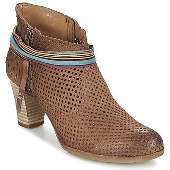 Cipők Női Bokacsizmák Felmini OMESSIO Barna