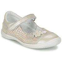 Cipők Lány Balerina cipők / babák GBB PRATIMA Szürke / Ezüst