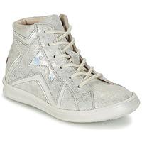 Cipők Lány Magas szárú edzőcipők GBB PRUNELLA Szürke / Ezüst